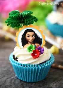 Moana Cupcake Cake Ideas