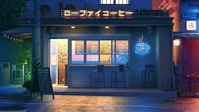 Lofi Coffee Lo Night Cafe Fi Late