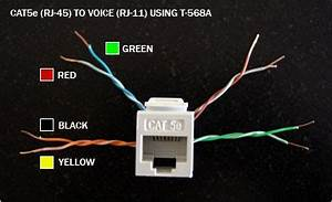 Cat5e To Rj11 Plug Wiring Diagram : standard wiring rj11 rj12 connectorpairs wiring circuit ~ A.2002-acura-tl-radio.info Haus und Dekorationen