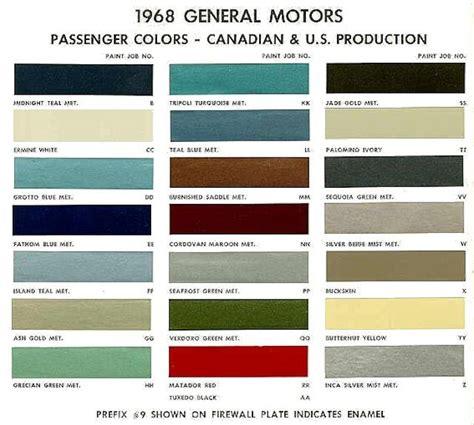 behr paint color chart 1968 chevelle exterior paint