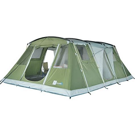 tente 6 places 2 chambres skandika nizza six family tent uksportsoutdoors