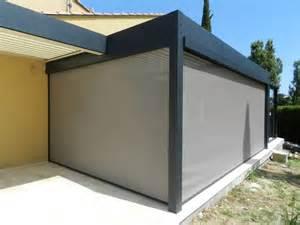 store vertical pour pergola prot 233 ger une terrasse de forte chaleur et de la pluie pergola ou autre