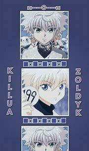 Wallpaper killua zoldyck☆ in 2021 | Cute anime wallpaper ...