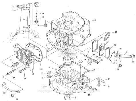 Robin Subaru Parts Diagram For Crankcase Gear