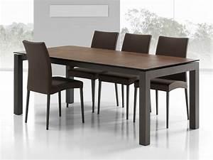 Table Mobilier De France : table a rallonges enix c ramique mobliberica mobilier de france ~ Teatrodelosmanantiales.com Idées de Décoration