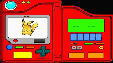 La Pokédex 2016 Pikachu N º025 Youtube