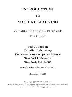 Introduction To Machine Learning - Download link