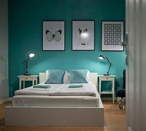 Couleur de peinture pour chambre tendance en 18 photos for Canapé 3 places pour déco tendance chambre adulte