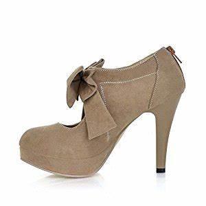 Schuhe Schnüren Ohne Schleife : lath pin vintage damen schuhe pumps high heels beige brautschuhe mit schleife stilettosabsatz ~ Frokenaadalensverden.com Haus und Dekorationen