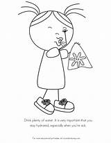 Germs Coloring Pages Sick Spreading Preschool Worksheets Kid Colouring Hope Better Child Children Printable Activities Hospital Feel Health Flu Cold sketch template