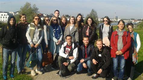 Architekturstudenten Aus Russland Zu Gast Im Drostehaus