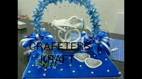 handmade engagement ring tray decoration diy wedding