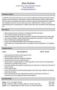 fresh law graduate resume sle attorney resume tips