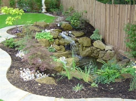small garden landscape simple and easy diy backyard landscaping house design with small ponds combined with stone