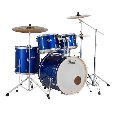 pearl export exx  fusion drum kit high voltage blue