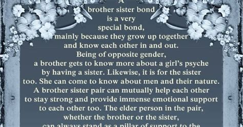 brother sister bond family loyalty quotes