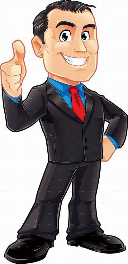 Transparent Background Businessman Cartoon Clipart Male Business