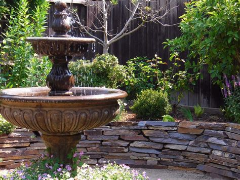 backyard water fountains landscaping tips that can help sell your home hgtv