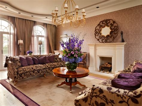 purple living room designs ideas design trends