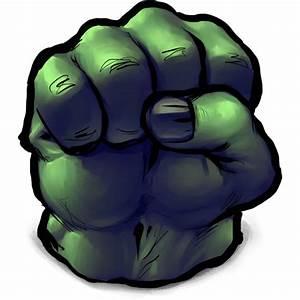 Hulk Fist Icon, PNG ClipArt Image | IconBug.com