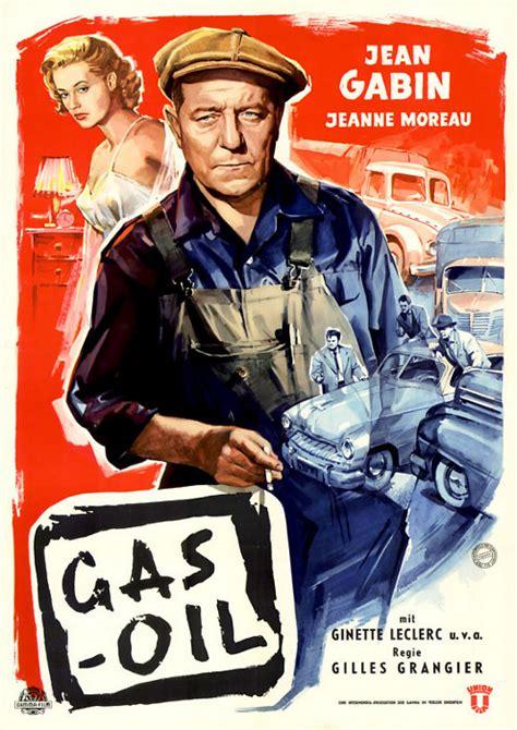 jean gabin gas oil 1955 filmplakat gas oil 1955 filmposter archiv