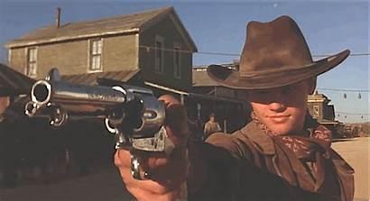 Cowboy Gun Shooting Dicaprio West Leonardo Gifs
