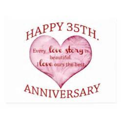 35th wedding anniversary gift happy 35th anniversary gifts on zazzle