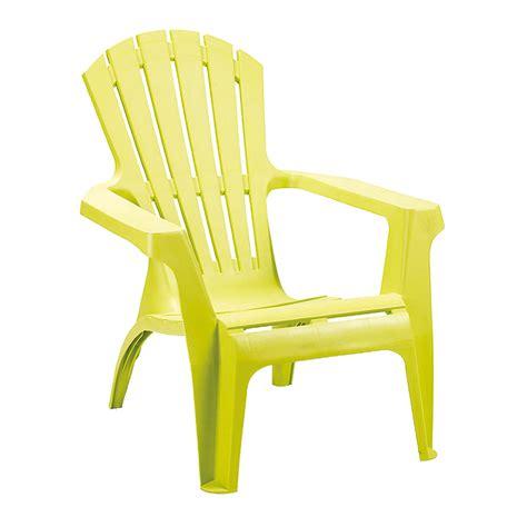 ozalide fauteuil de jardin adirondack vert anis