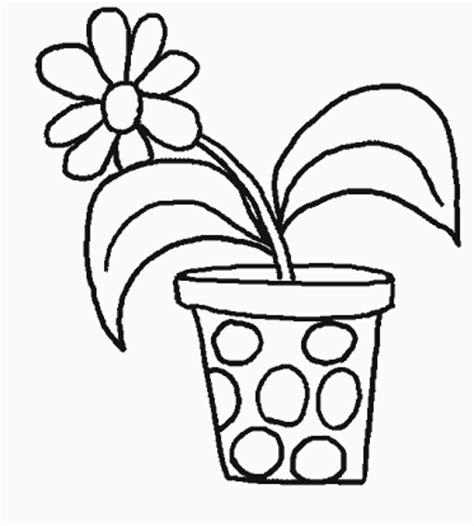 pot de fleur 224 colorier