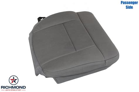 manual repair autos 2008 ford f150 seat position control 2007 2008 ford f 150 stx cloth seat cover passenger bottom gray richmond auto upholstery