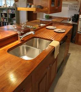 52 Sink Wood Countertop, How To Install A Bathroom