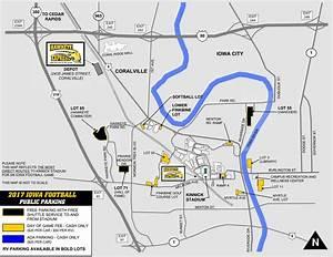 Map Of Iowa City Kinnick Stadium Download Them And Print