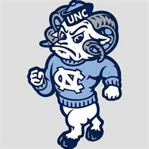 North Carolina Tar Heels Mascot