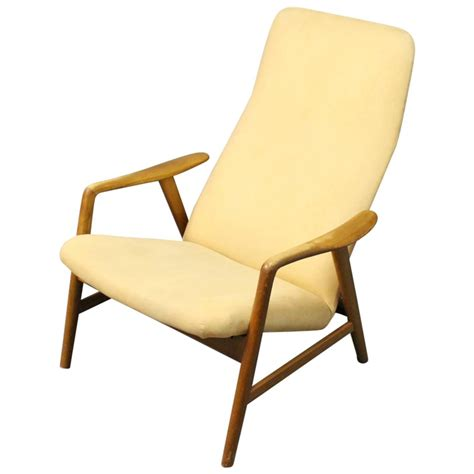 alf svensson highback reclining lounge chair manufactured