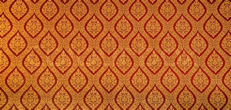 home temple interior design the traditional style golden painting pattern on