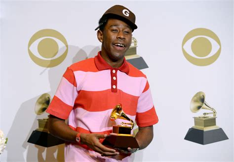 Tyler gregory okonma (born march 6, 1991), better known as tyler, the creator, is an american rapper, musician, songwriter, record producer, actor, visual artist, designer and comedian. Why Tyler, the Creator Felt Conflicted About His First Grammy Win