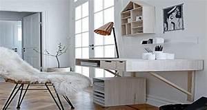 6 bonnes idees d39amenagement bureau With peinture d une maison 6 amenager un coin bureau dans un studio un appartement ou