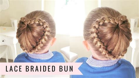 Lace Braided Bun By Sweethearts Hair