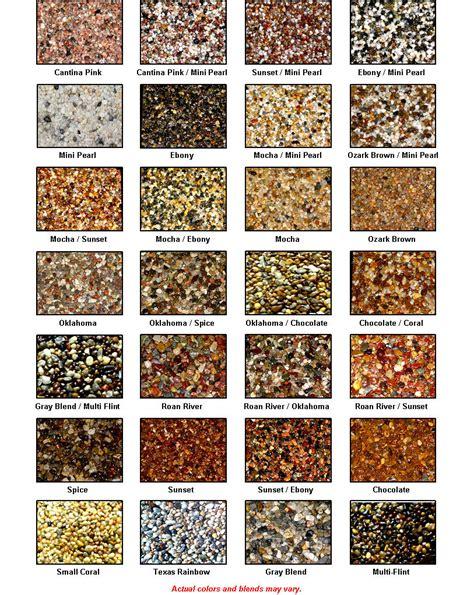 24 colors of everstone epoxy