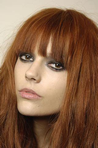 martha streck red hair bangs   hair
