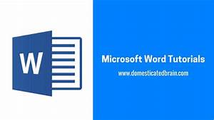 Microsoft Word Tutorials - How To Add A Hyperlink In Microsoft Word