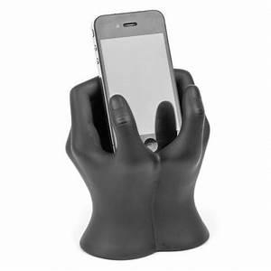 Support Photo Original : support t l phone portable iphone mains art collection ~ Teatrodelosmanantiales.com Idées de Décoration