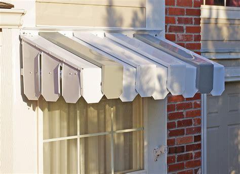 brookside window awning  flat side panels