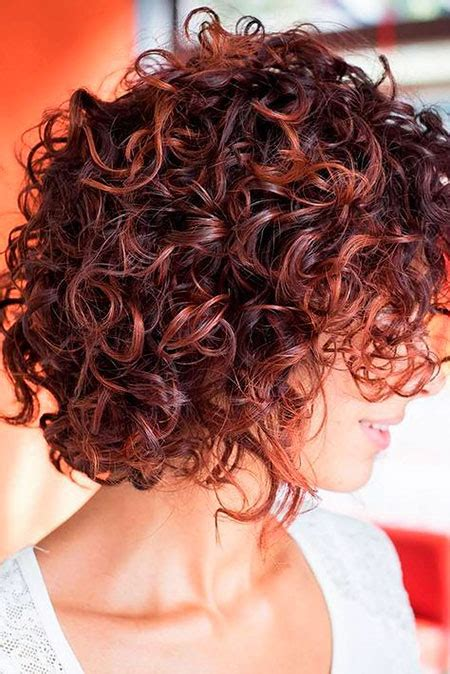 20 Short Curly Haircuts for Women Short Hairstyles