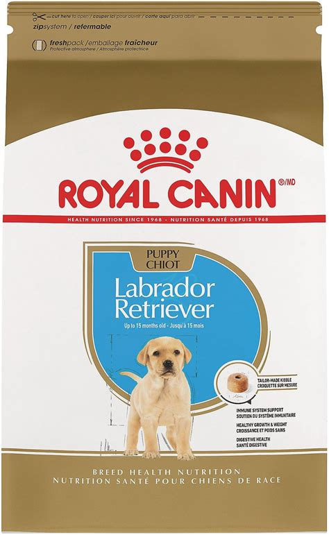 royal canin labrador retriever puppy dry dog food  lb
