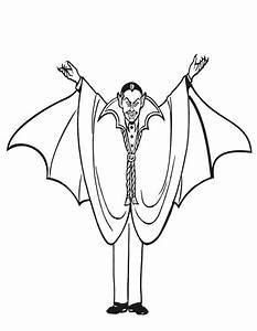 Dessin Halloween Vampire : coloriage vampire imprimer gratuitement ~ Carolinahurricanesstore.com Idées de Décoration