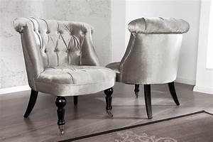Stuhl Auf Rollen : stylischer design sessel josephine silbergrau stuhl barock barockm bel auf rollen riess ~ Eleganceandgraceweddings.com Haus und Dekorationen