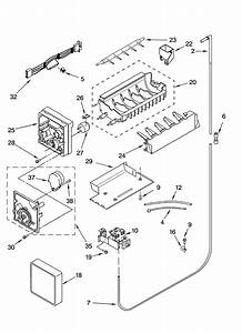 Icemaker Parts  Parts Not Illustrated Diagram  U0026 Parts List