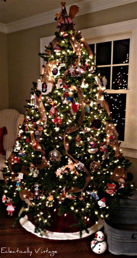 burlap garland christmas tree kelly elko