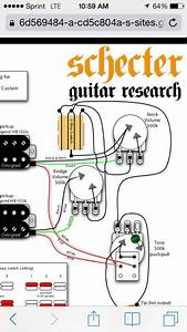 Schecter Pickup Wiring Diagram